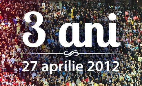 3 ani - 27 aprilie 2012